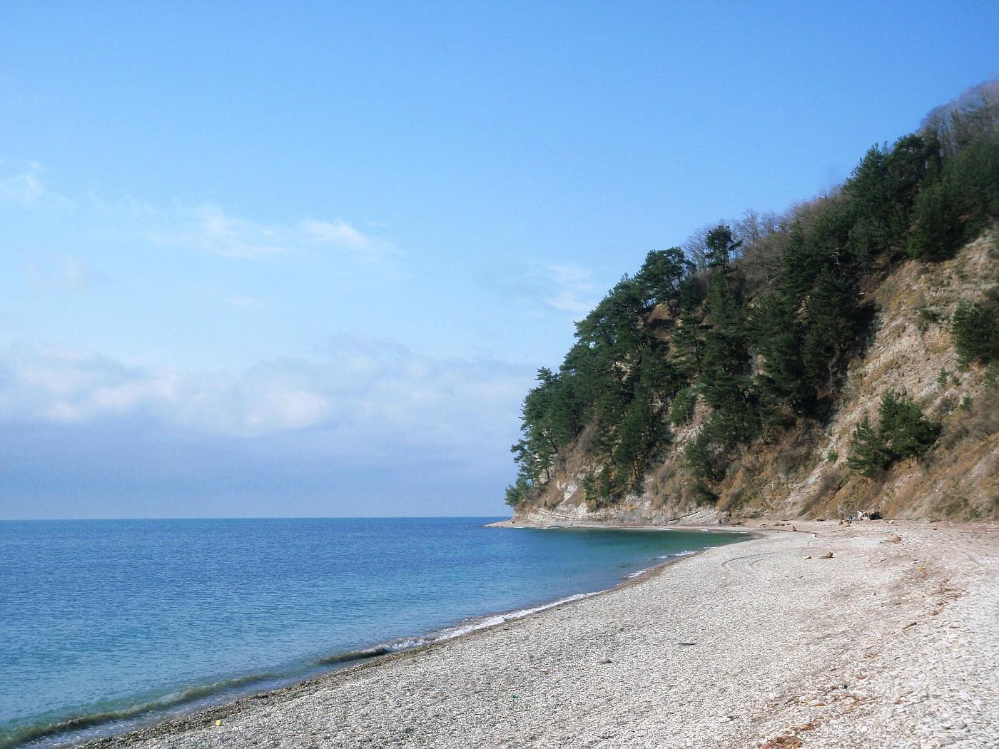 Beach of the Black Sea