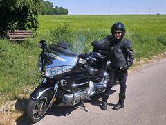 Hardbiker auf dem Weg zur Wilhelmshöhe