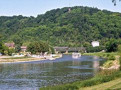 Weser und Bisnarckturm
