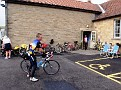 The Canadian rider Peter at control Coxwold