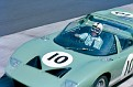 Nurburgring 1965-Richard Attwood/John Whitmore Ford GT40 Roadster.