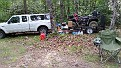My Junky Camping area.  We left it clean.