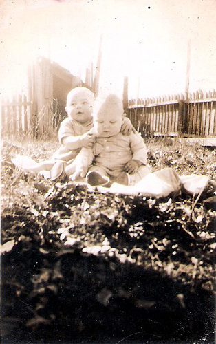 59-Uncle Del and Cousin Charles Moffett