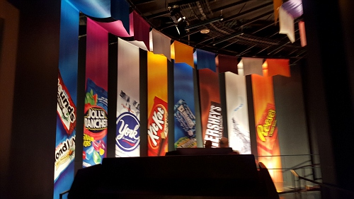 Some products that are made at HERSHEY.