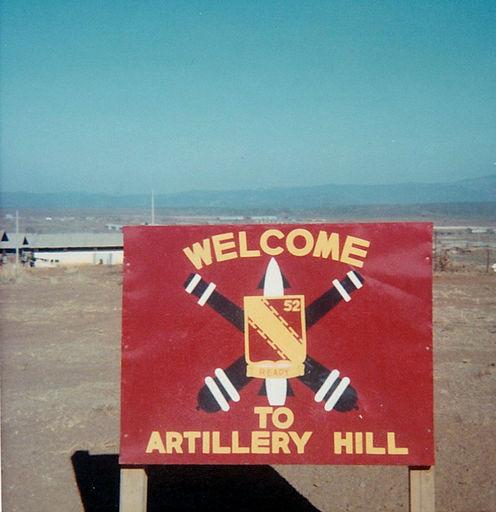 2-Welcome to Artillery Hill, Pleiku, RVN 1968