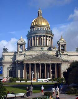 St Issac's Cathedral, St Petersburg