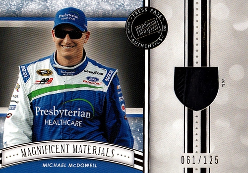 2012 Fanfare Magnificent Materials Gold Michael McDowell (1)
