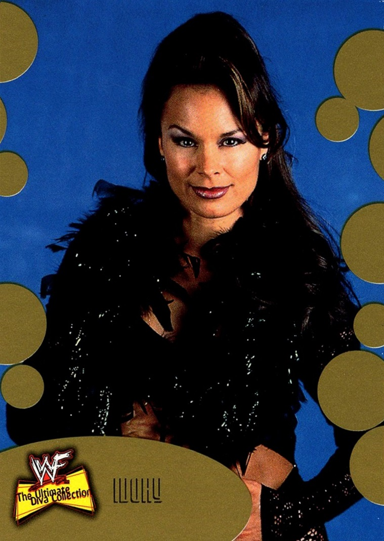 2001 WWF Ultimate Diva Collection Gold #024 (1)